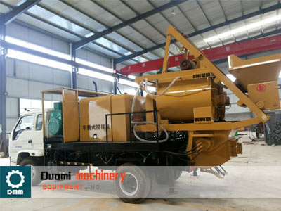 DMBT40 Series Truck mounted mixing pump